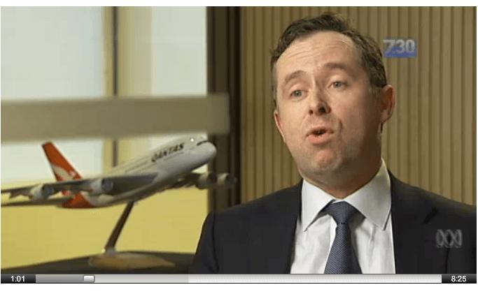 Business Studies Finance- Qantas
