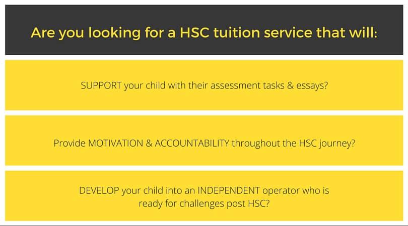 HSC Tuition tutoring coaching service sydney