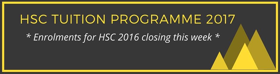 HSC Tuition Programme